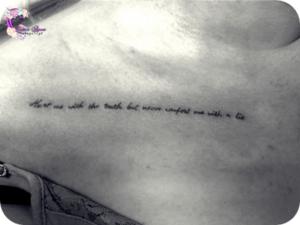 napis tatuaz