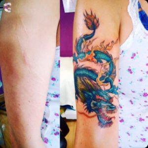 tatuaz smok