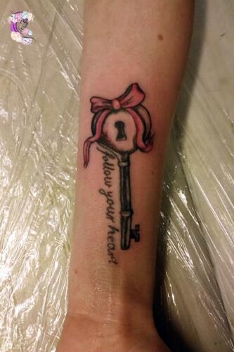 tatuaz klucz